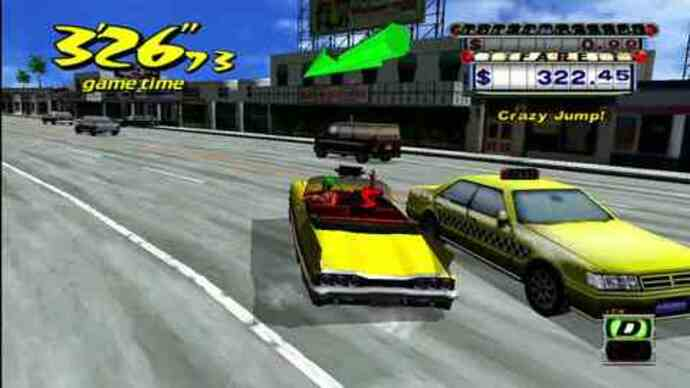 Crazy Taxi HD trailer