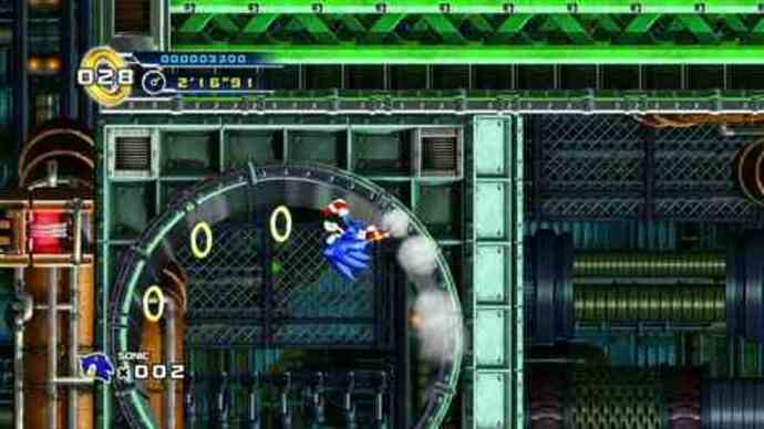 Sonic 4 level 4-1 gameplay