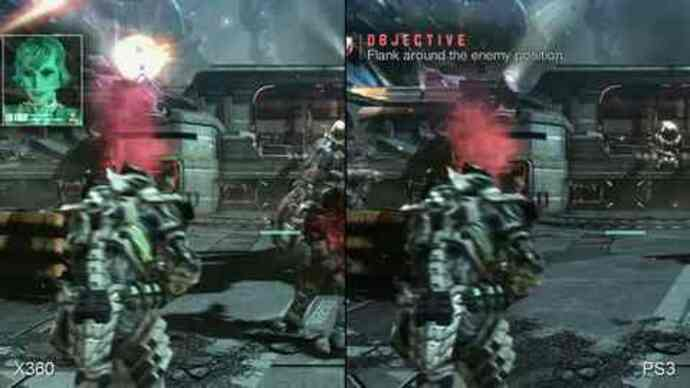 Vanquish: Xbox 360/PS3 Face-Off