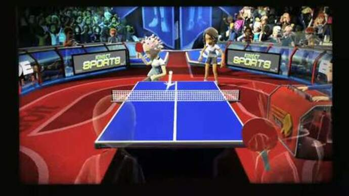 New Kinect Sports trailer