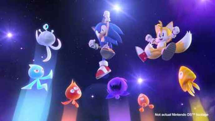 Sonic Colours for DS launching thisweek