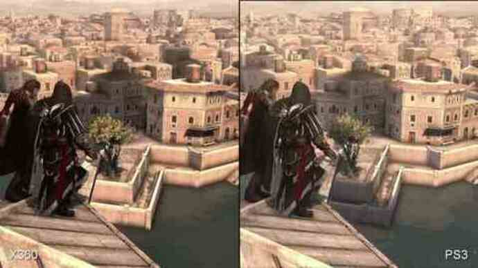 Assassin's Creed: Brotherhood PS3/360Face-Off