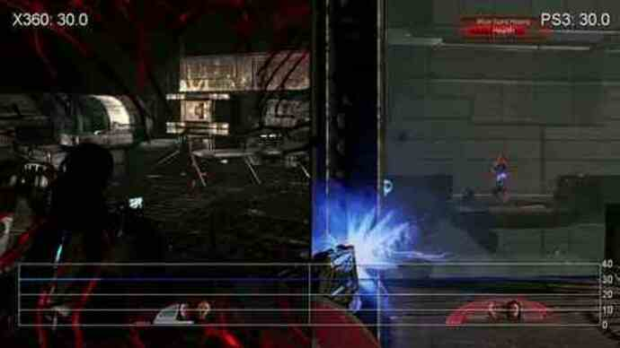 Mass Effect 2: Rendimiento PS3/360 gameplay