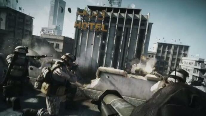 First Battlefield 3 gameplay footage