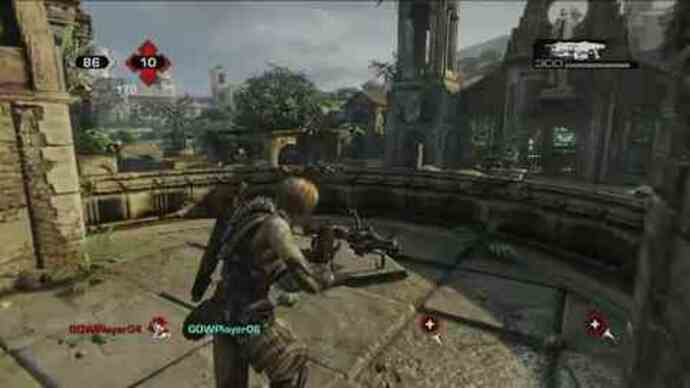 Gears of War 3 - Beta gameplay