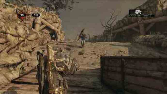 Gears of War 3 - Gameplay del multi