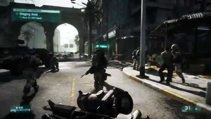 Extended Battlefield 3 gameplay
