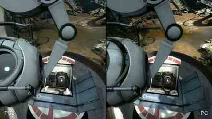 Portal 2 PC/PS3 Face-Off Comparison