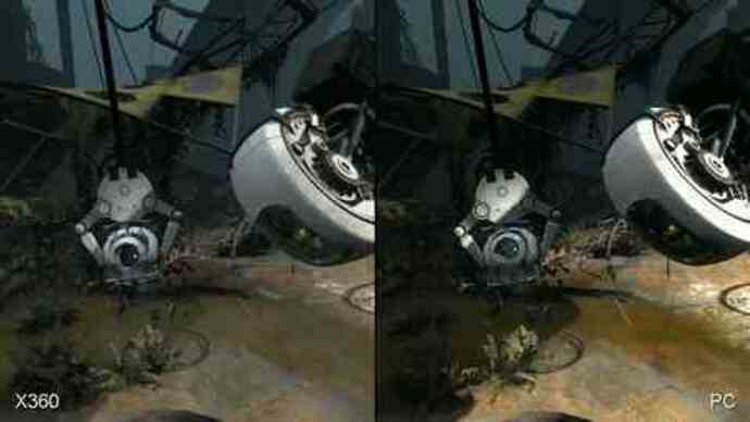 Portal 2 360/PC Face-Off Comparison