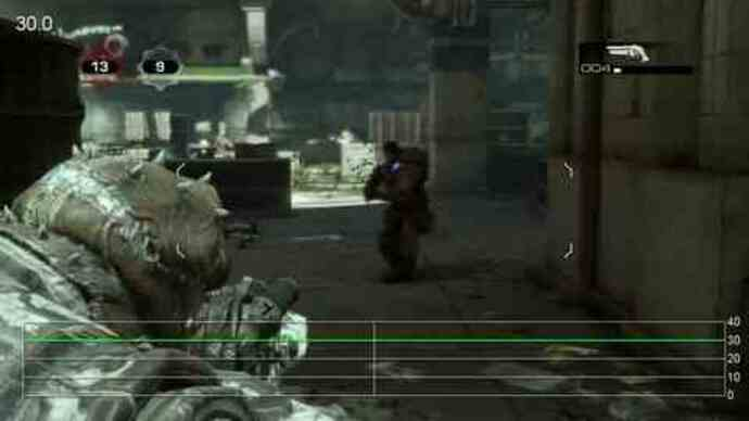 Gears of War 3 Beta - Rendimiento Checkout