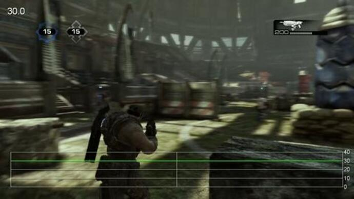 Gears of War 3 Beta - Rendimiento Thrashball