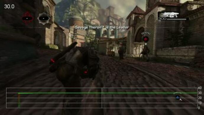 Gears of War 3 Beta - Rendimiento Old Town