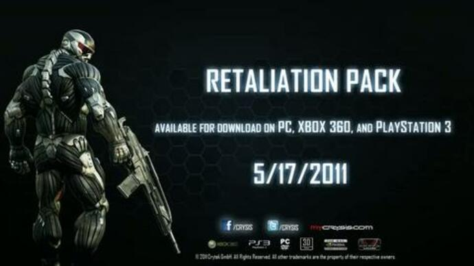 Crysis 2 Retaliation DLC trailer