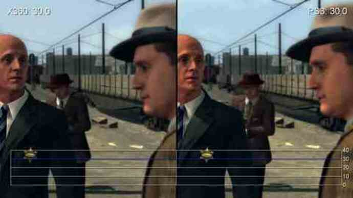 L.A. Noire Like-for-Like PS3/360 PerformanceAnalysis