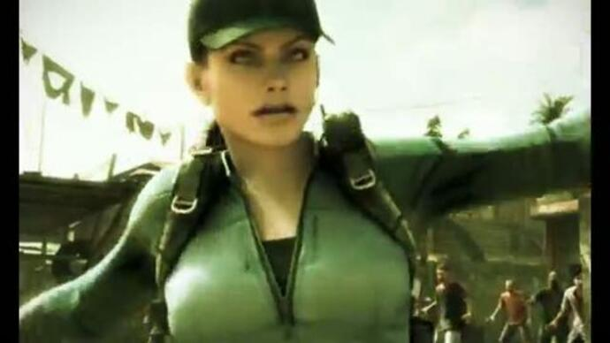 Resident Evil: Mercenaries 3D trailer