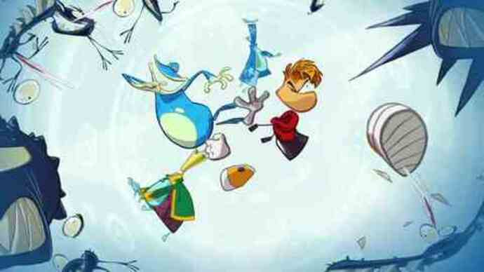 Rayman Origins gameplay footage