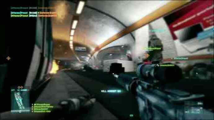 Latest Battlefield 3 gameplay video