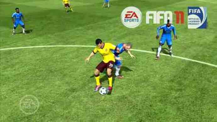 FIFA 12 trailer shows new game tech