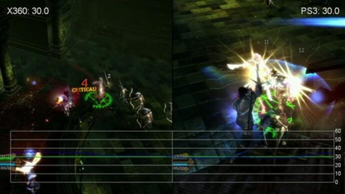 Dungeon Siege III PS/360 Performance Analysis